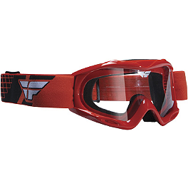 2013 Fly Racing Youth Focus Goggles - 2013 Fox Youth Dirtpaw Gloves - Race