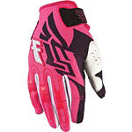 2013 Fly Racing Girl's Kinetic Gloves - Fly Utility ATV Gloves