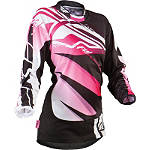 2013 Fly Racing Girl's Kinetic Jersey - GIRLS--JERSEYS Dirt Bike Riding Gear