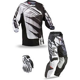 2013 Fly Racing Youth Kinetic Combo - Inversion - 2013 Fox Youth 180/HC/Dirtpaw Combo - Honda