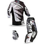 2013 Fly Racing Youth Kinetic Combo - Inversion - Utility ATV Pants, Jersey, Glove Combos