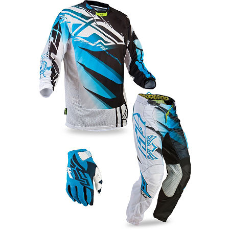 2013 Fly Youth Kinetic Combo - Inversion Mesh - Main