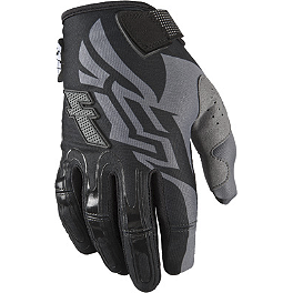 2013 Fly Racing Youth Kinetic Gloves - 2013 Answer Youth JSC Rush Gloves
