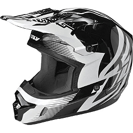 2014 Fly Racing Youth Kinetic Inversion Helmet - 2013 MSR Youth Assault Helmet