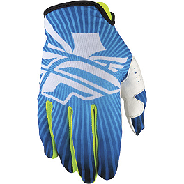 2014 Fly Racing Youth Lite Gloves - 2013 SixSixOne Youth Rev Gloves