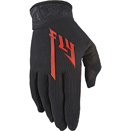 2014 Fly Racing Youth Pro-Lite Gloves - 2013 SixSixOne Youth Rev Gloves