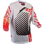 2013 Fly Racing Youth Kinetic Mesh Jersey - RS - Fly Dirt Bike Riding Gear