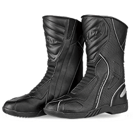 Fly Racing Milepost Air Sport-Touring Boots - Joe Rocket Ballistic Touring Boots