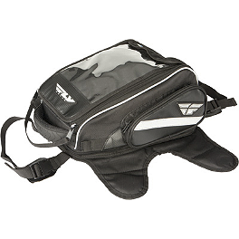 Fly Racing Medium Tank Bag - Fly Racing Tourist Helmet - Cirrus