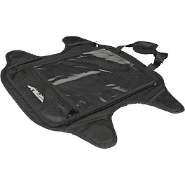 Fly Racing Medium Tank Bag Base - Fly Racing Tourist Helmet - Cirrus