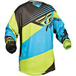 2014 Fly Racing Youth Kinetic Jersey - Blocks - Dirt Bike Riding Gear