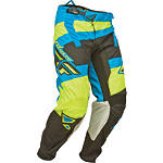 2014 Fly Racing Youth Kinetic Pants - Blocks - Fly Dirt Bike Riding Gear