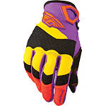 2014 Fly Racing Youth F-16 Gloves - Fly Dirt Bike Riding Gear