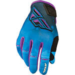 2014 Fly Racing Girl's Kinetic Gloves - Motocross Gloves