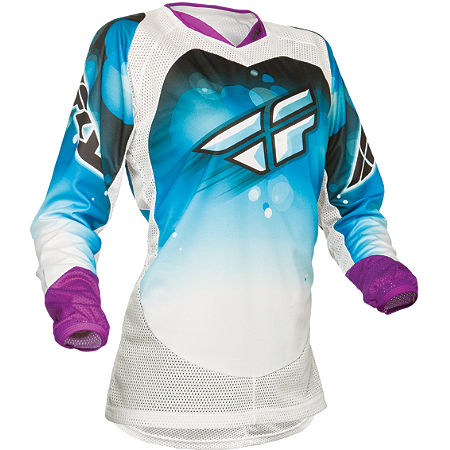2014 Fly Racing Girl's Kinetic Jersey - Main
