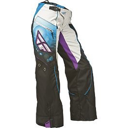 2014 Fly Racing Girl's Kinetic Overboot Pants - 2014 Fly Racing Girl's Kinetic Gloves
