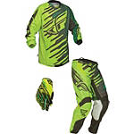 2014 Fly Racing Youth Kinetic Combo - Shock - Utility ATV Pants, Jersey, Glove Combos
