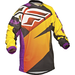 2014 Fly Racing Youth F-16 Jersey - Limited - 2014 Fly Racing Youth F-16 Gloves