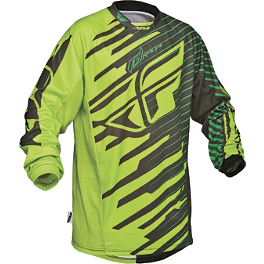 2014 Fly Racing Youth Kinetic Jersey - Shock - 2014 Fly Racing Youth F-16 Jersey