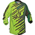 2014 Fly Racing Youth Kinetic Jersey - Shock - Dirt Bike Riding Gear
