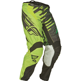 2014 Fly Racing Youth Kinetic Pants - Shock - 2014 Fly Racing Youth Kinetic Gloves