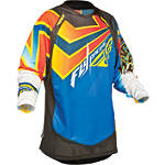 2014 Fly Racing Youth Evolution Jersey - Vertigo - Fly Dirt Bike Riding Gear