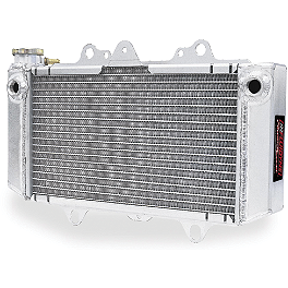 Fluidyne Power-Flo Radiator - 2006 Kawasaki KFX700 Big Gun Rev Box