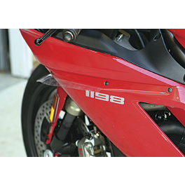 FLU Designs Clear Protector Kit - 2012 Honda CBR600RR ABS Flu Designs Honda/Corona Graphic Kit