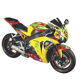 Flu Designs Honda/Corona Graphic Kit - 2012 Honda CBR600RR ABS Flu Designs Honda/Corona Graphic Kit