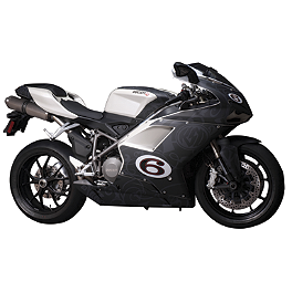 FLU Designs Roland Sands Graphic Kit - 2008 Ducati 848 FLU Designs Roland Sands Graphic Kit