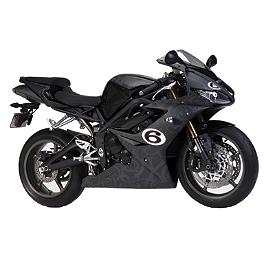 FLU Designs Roland Sands Graphic Kit - 2011 Triumph Daytona 675 FLU Designs Roland Sands Graphic Kit