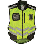 Fly Racing Fast-Pass Vest - Hi-Viz -  Military Approved Motorcycle Jackets & Vests