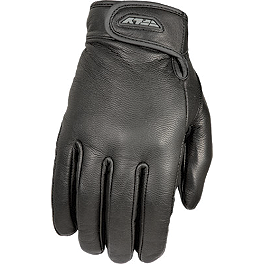 Fly Racing Rumble Gloves - River Road Firestone Leather Gloves