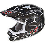 2012 Fly Racing Trophy II Helmet - Utility ATV Off Road Helmets