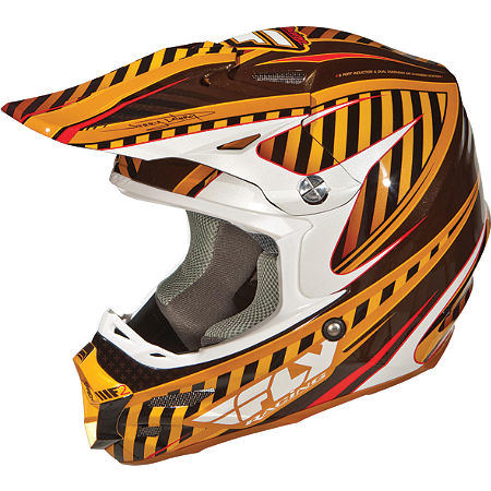 2012 Fly Racing F2 Carbon Helmet - Systematic - Main