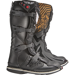 2013 Fly Racing Maverik MX Boots - 2012 Factory Effex Metal Mulisha Graphics - Honda