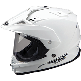 2014 Fly Racing Trekker Helmet - 2013 MSR Xpedition Dual Sport Helmet