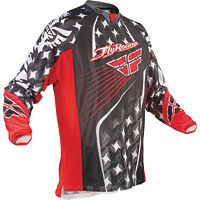 2011 Fly Racing Kinetic Jersey - Vented