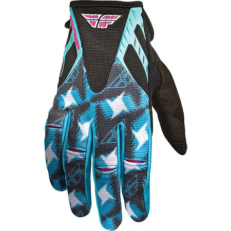 2011 Fly Racing Women's Kinetic Gloves - Main