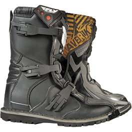 2014 Fly Racing Maverik Adventure/ATV Boots - 2014 O'Neal Shorty II Boots