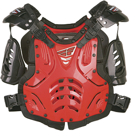 Fly Racing Convertible II Roost Deflector - 2014 Fox Airframe Chest Protector