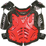 Fly Racing Convertible II Roost Deflector -  Motocross Chest and Back Protection