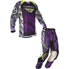 2012 Fly Racing Evolution Combo - 2012 One Industries Carbon Combo - Trace