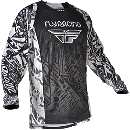 2012 Fly Racing Evolution Jersey - 2012 Fly Racing Kinetic Mesh Jersey