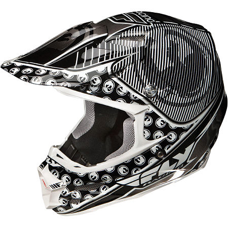 2013 Fly Racing F2 Carbon Dragon Alliance Helmet - Main