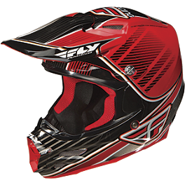 2013 Fly Racing F2 Carbon Trey Canard Replica Helmet - 2013 Fly Racing Kinetic Pro Helmet - Trey Canard Replica