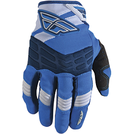 2013 Fly Racing F-16 Gloves - 2012 Fly Racing Kinetic Gloves