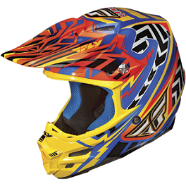2013 Fly Racing F2 Carbon Andrew Short Replica Helmet - 2012 Fly Racing Formula Helmet - Clash