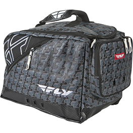 Fly Racing Garage Helmet Bag - Dowco Nylon Black Helmet Bag