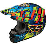 2013 Fly Racing Kinetic Dash Helmet - Utility ATV Off Road Helmets